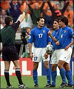 Zambrotta sent off