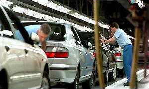 Nissan production