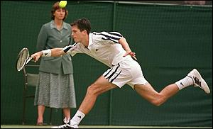 Tim Henman faces a tough route to the final