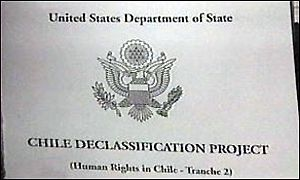 Department of State Chile document