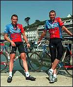 Sean Yates and Lance Armstrong