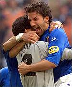 Can Italy upset the odds to win Euro 2000?