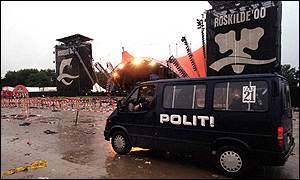 By first light, the scene at Roskilde was grim,