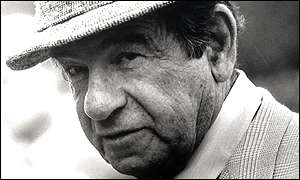 Actor Walter Matthau was known for his hang-dog face and perpetually grouchy, slouchy demeanor