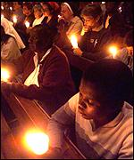 Peace mass in Harare