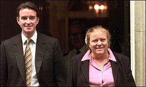 Peter Mandelson and Mo Mowlam