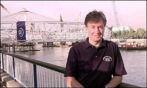 Bob Ayling by Millennium Wheel