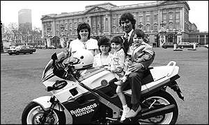 Joey Dunlop and family