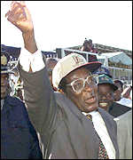 Robert Mugabe: 'We will tolerate no hindrance'