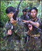 Naga guerrillas