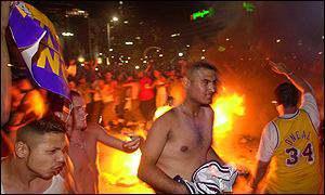 LA street riot