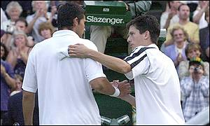 Mark Philippoussis and Tim Henman