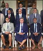 Fiji cabinet is sworn in