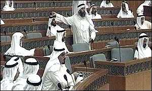 Kuwait's all-male parliament - but for how much longer?