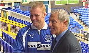 Steve Watson and Walter Smith
