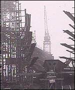 Bygone days at Govan shipyard