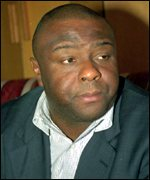 Rebel leader Jean Pierre Bemba
