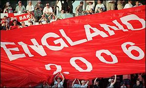 England 2006 bid looks unlikely to succeed