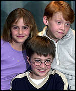 The Harry Potter stars