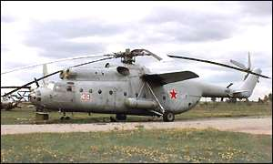 Russian MI6 helicopter