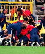 Spain delirious after beating Yugoslavia 4-3