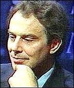 Tony Blair on Question Time