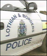 Lothian and Borders Police car