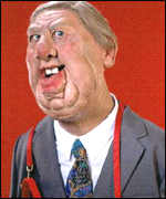 Roy Hattersley puppet