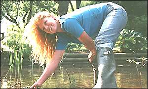 TV Presenter Charlie Dimmock