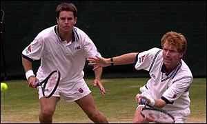 Todd Woodbridge and Mark Woodforde