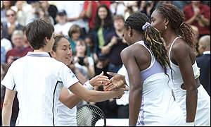 Halard-Decugis, Ai Sugiyama, and the Williams sisters