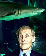 Jaws writer Peter Benchley