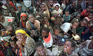 famine victims in Ethiopia