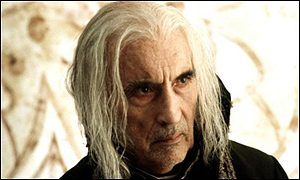 Christopher Lee in Gormenghast