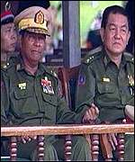 Thailand suspects the Burmese military of collusion