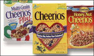 Cheerios is America's most popular breakfast cereal