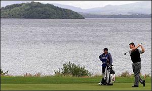 Nick Faldo begins to slow down in the third round