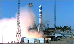The Soyuz rocket is successfully launched - at last