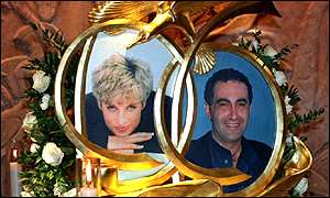 Diana and Dodi Fayed