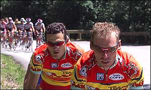 Pascal Herve and Richard Virenque