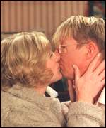 Sarah Lancashire and Kevin Kennedy in Coronation Street