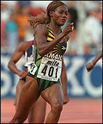 Merlene Ottey has been cleared by the IAAF