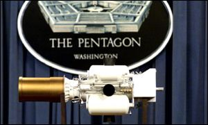 The miniature interception device at the heart of the US missile defence system
