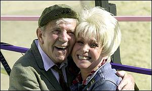 Norman Wisdom and Barbar Windsor