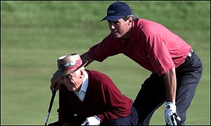 Sam Snead and Ian Baker-Finch