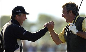 Gary Player and Tony Jacklin