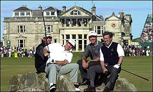 Sandy Lyle, Mark Calcavecchia, Mark O'Meara