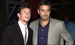 Mark Wahlberg and George Clooney