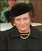 Wife of Robert Maxwell, Dr Elisabeth Maxwell