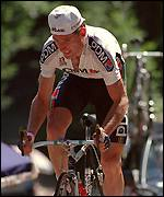 Sean Kelly during the 1990 Tour